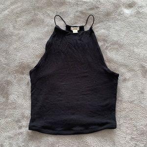 Garage black top